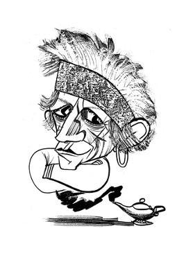 Keith Richards - Cartoon by Tom Bachtell