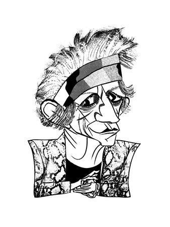 Keith Richards - New Yorker Cartoon