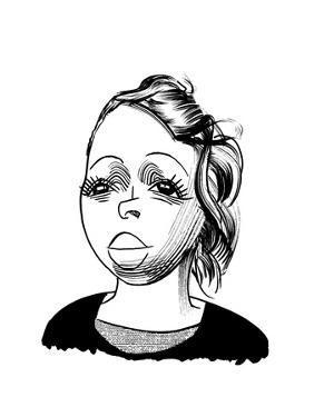Lezley McSpadden - Cartoon by Tom Bachtell