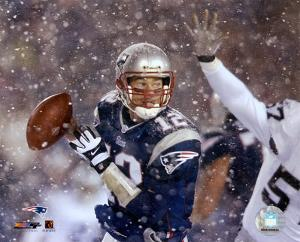 Tom Brady 2001 Divisional Playoff vs. Raiders