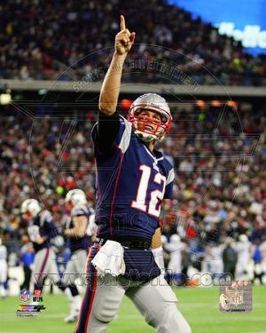 Tom Brady 2012 Action