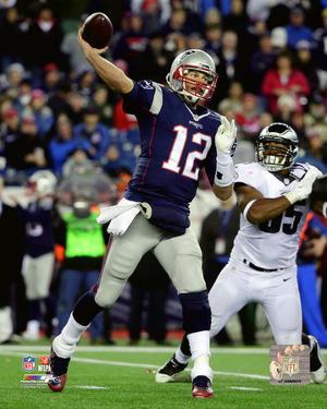 Tom Brady 2015 Action