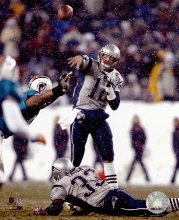 Tom Brady - Super Bowl XXXIX - passing in first quarter