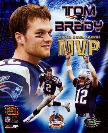 Tom Brady - Super Bowl XXXVIII MVP Champions Collection (Limited Edition)