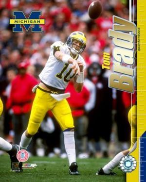 Tom Brady - University of Michigan - Passing