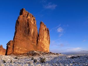 Courthouse Towers Rock Formation by Tom Brakefield
