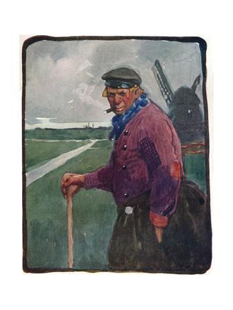 'A Volendamer', c19th century (1914-1915)