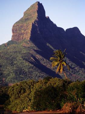 Rocky Peak of Mt. Rempart, Tamarin, Mauritius by Tom Cockrem