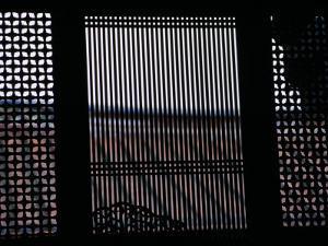 Window Patterns at Lin-An-Tai Family Mansion, Taipei, Taiwan by Tom Cockrem