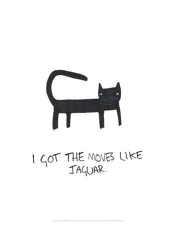 Moves Like Jagger - Tom Cronin Doodles Cartoon Print