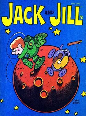 Space Fetch - Jack and Jill, May 1978 by Tom Eaton