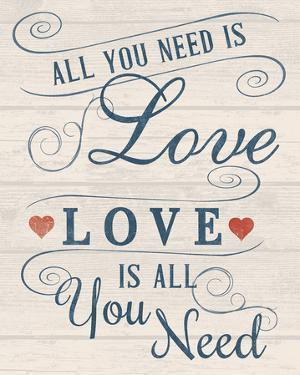 All You Need is Love by Tom Frazier