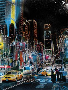 Downtown Lights by Tom Frazier