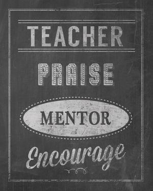 Inspiring Teacher II by Tom Frazier