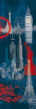 London, New York and Paris by Tom Frazier