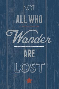 Not All Who Wander by Tom Frazier