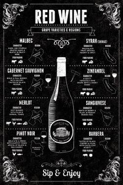 Red Wine Guide by Tom Frazier