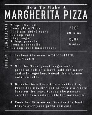 Rustic Recipe - Pizza by Tom Frazier