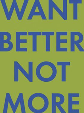 Want Better by Tom Frazier
