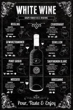 White Wine Guide by Tom Frazier