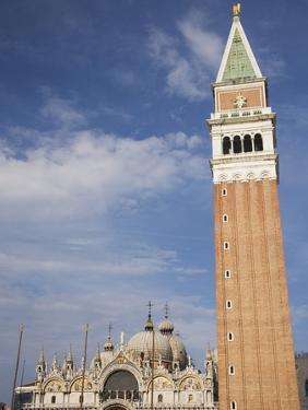 Campanile and Basilica of San Marco by Tom Grill