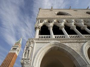 Doge's Palace and Campanile by Tom Grill