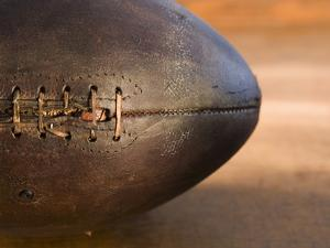 Old Football by Tom Grill