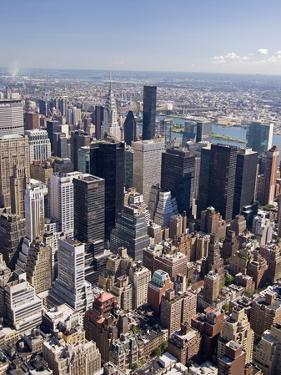 View of Central Manhattan from the Empire State Building by Tom Grill