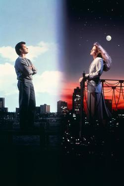 "TOM HANKS; MEG RYAN. ""SLEEPLESS IN SEATTLE"" [1993], directed by NORA EPHRON."