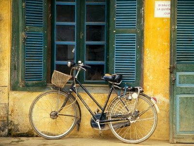 Bicycle in Hanoi, Vietnam