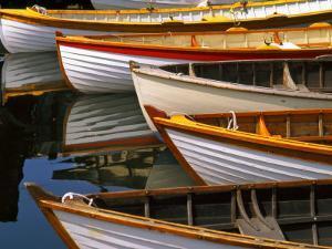 Boats at the Wooden Boat Center, Lake Union, Seattle, Washington, USA by Tom Haseltine