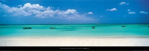 Palm Beach, Aruba, Caribbean by Tom Mackie