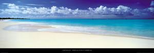Tropical Beach, Caribbean by Tom Mackie