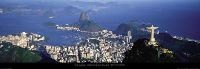 View over the City and Bay, Rio de Janeiro