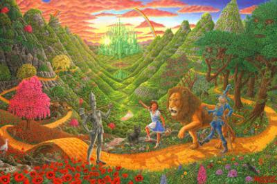 Wizard Of Oz by Tom Masse