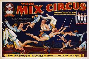 Tom Mix Circus Poster