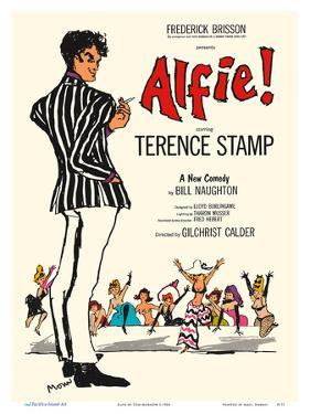 Alfie - Starring Terence Stamp by Tom Morrow