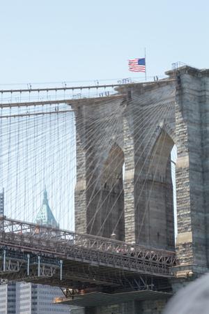 Brooklyn Bridge. New York. by Tom Norring