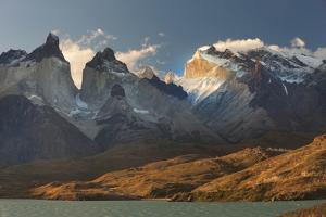 Cordillera Del Paine. Granite Monoliths. Torres Del Paine NP. Chile by Tom Norring