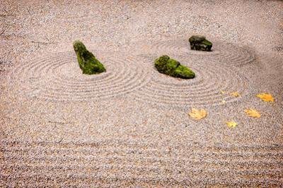 Garden Art. Columbia River Gorge, Oregon, USA. by Tom Norring