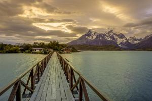 Hosteria Pehoe. Cordillera Del Paine. Torres Del Paine NP. Chile by Tom Norring
