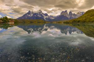 Hysteria Pehoe. Cordillera Del Paine. Torres Del Paine NP. Chile by Tom Norring