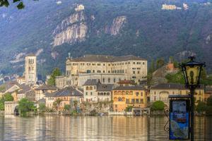 Isola San Giulio. San Giulio Island. Lake Orta. Piedmont, Italy by Tom Norring