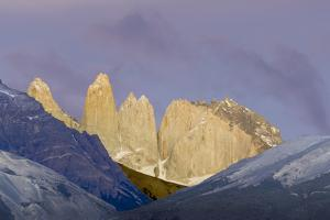 Las Torres before Sunrise. Torres Del Paine NP. Chile by Tom Norring