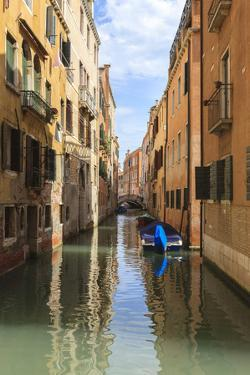 Narrow Canal. Venice. Italy by Tom Norring