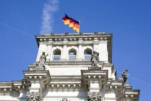 Reichstag. Parliament Building. Berlin. Germany by Tom Norring