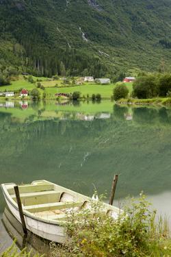 Rowboat. Olden, Norway by Tom Norring