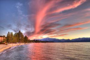 Sunset. by Tom Norring