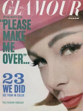Glamour Cover - July 1961 by Tom Palumbo