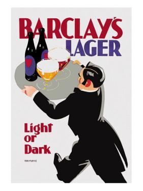 Barclay's Lager: Light or Dark by Tom Purvis
